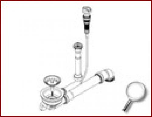 """Hervorragend Teka Geruchverschluß 1 1/2"""" Syphon flexibler Schlauch 40/50 mm 0  GG58"""